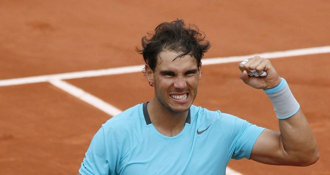 Rafael Nadal: Dropped just seven games in second round against Dominic Thiem