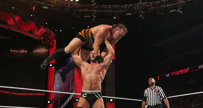 Cesaro Neutralized Rob Van Dam and Bad News Barrett on Main Event