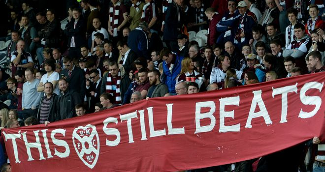 Hearts fans: Bid farewell to the Premiership