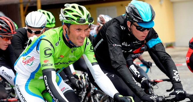 Basso will leave Cannondale for Oleg Tinkov's team