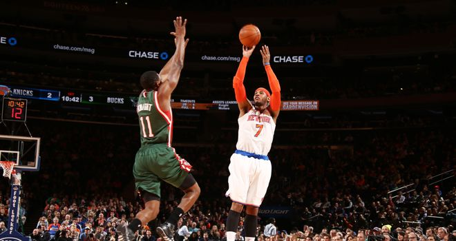 Carmelo Anthony: Turned down a multitude of offers from other teams to remain in New York