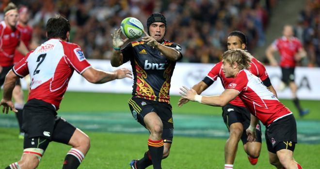 Charlie Ngatai (C): Went over for the Chiefs during comfortable win over the Lions