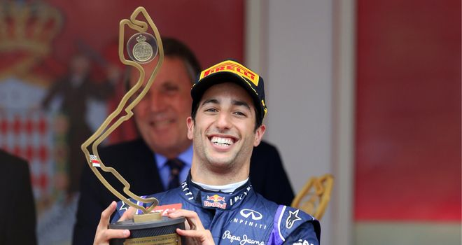 Daniel Ricciardo: Chased down Mercedes in Monaco