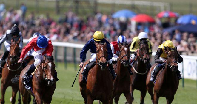 Esoterique beats Integral to the Dahlia Stakes