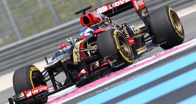 Fabio Leimer: Tested a 2012 Lotus at Paul Ricard