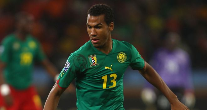 Eric Maxim Choupo-Moting: Scored for Cameroon