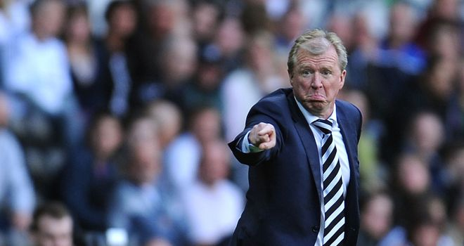 Steve McClaren: Happy to see Derby worked hard by Rangers