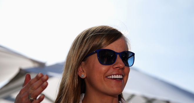 Susie Wolff will be in action for Williams