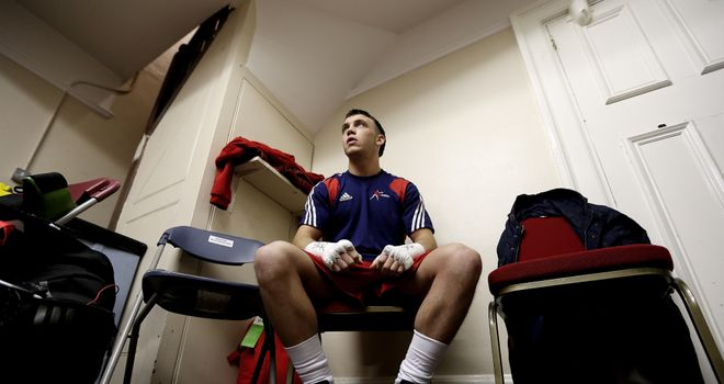 Fred Evans: Will lead the Wales boxing squad