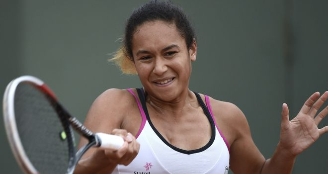 Heather Watson: Came up short against fourth seed Simona Halep