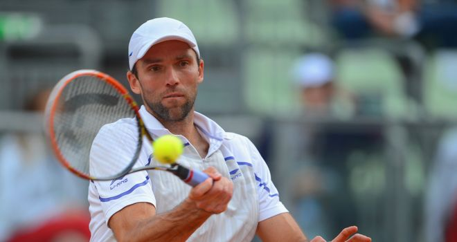 Ivo Karlovic: KNocked out defending champion Juan Monaco at the Dusseldorf Open
