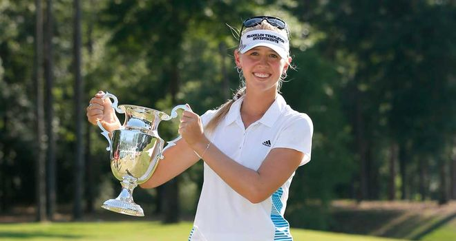 Jessica Korda: Flying finish for Airbus success