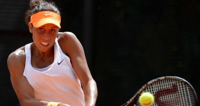 Madison Keys: Came through a three-set battle against Julia Goerges