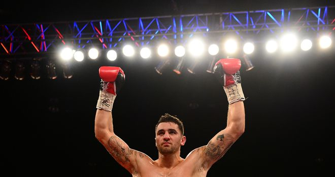 Nathan Cleverly: Was fighting for the first time since being stopped by Sergey Kovalev