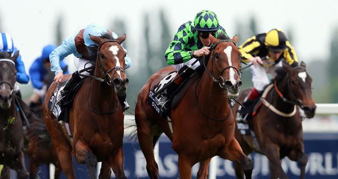 Volume wins at Newbury last week - but could the runner-up be the more likely stayer at Epsom?