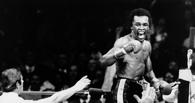 Sugar Ray Leonard: Split his fights with Roberto Duran in 1980