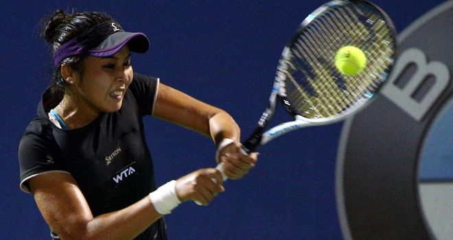 Zarina Diyas: Kzakhstan player makes it through to last eight
