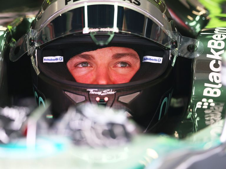 Nico Rosberg: Fastest in final practice