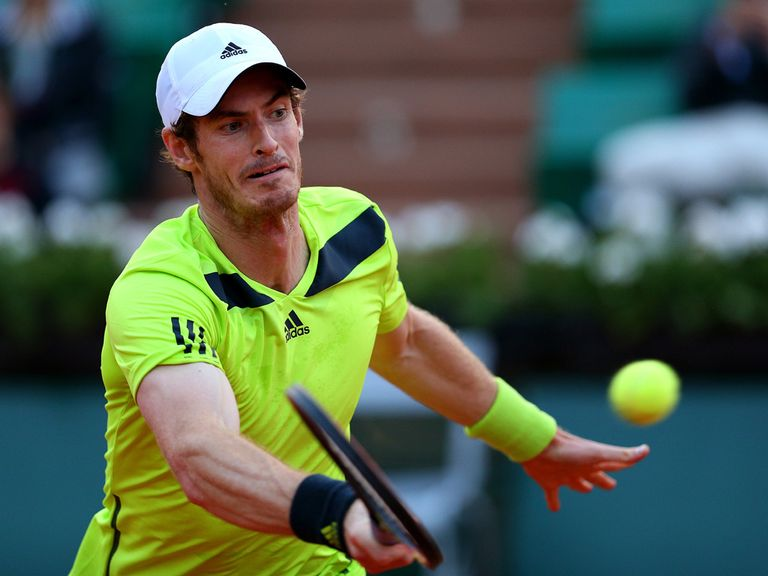 Andy Murray: Bidding for a semi-final place in Paris today