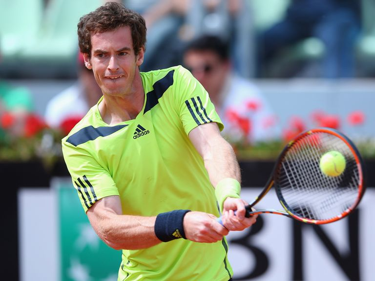 Andy Murray: Through to the last eight in Rome