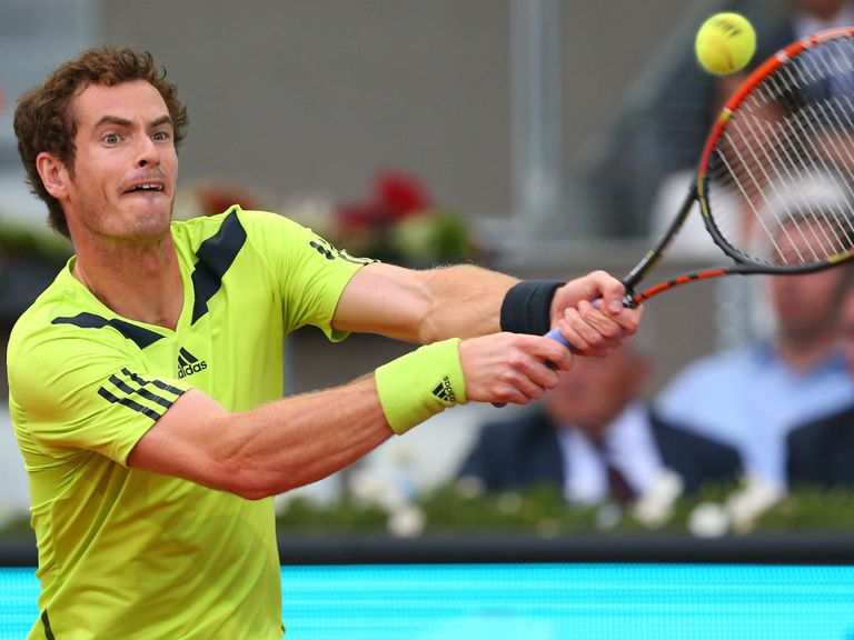 Andy Murray overcame Nicolas Almagro in Madrid in three sets