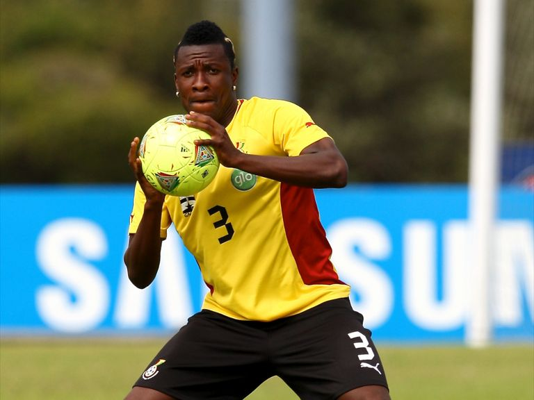 Asamoah Gyan; Back in favour in the Ghana set-up