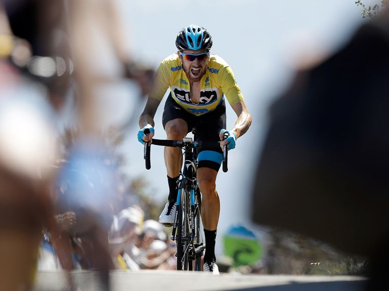 Sir Bradley Wiggins: Still leads in California