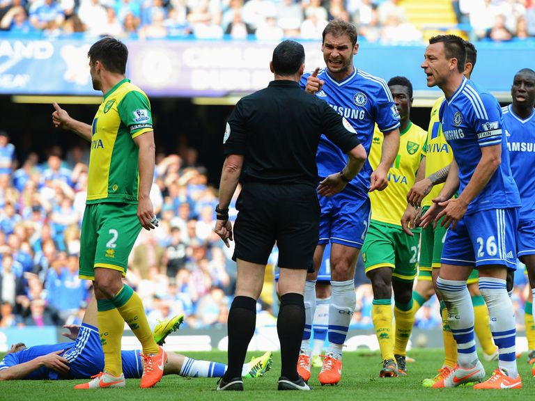 Neither Chelsea or Norwich were helped much by a point on Sunday