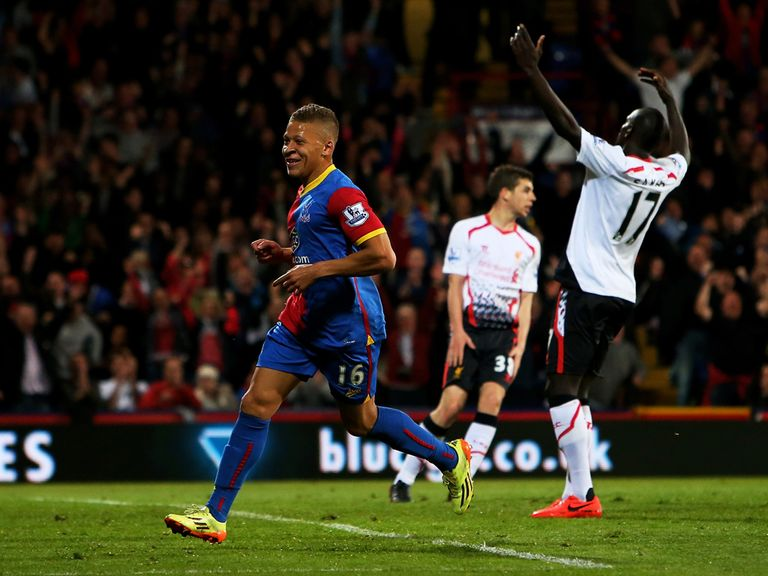 Crystal Palace hit back from 3-0 down to draw 3-3 with Liverpool.