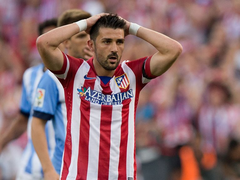 David Villa: Will be leaving Atletico this summer