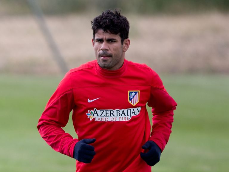 Diego Costa: Named in the Spain squad