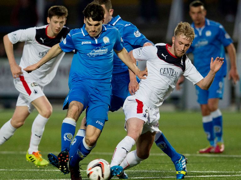Falkirk and Queen of the South do battle again on Saturday