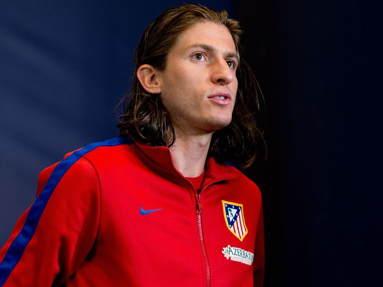 Filipe Luis: Linked with Chelsea move