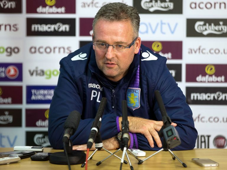 Paul Lambert: Keen to carry on at Villa
