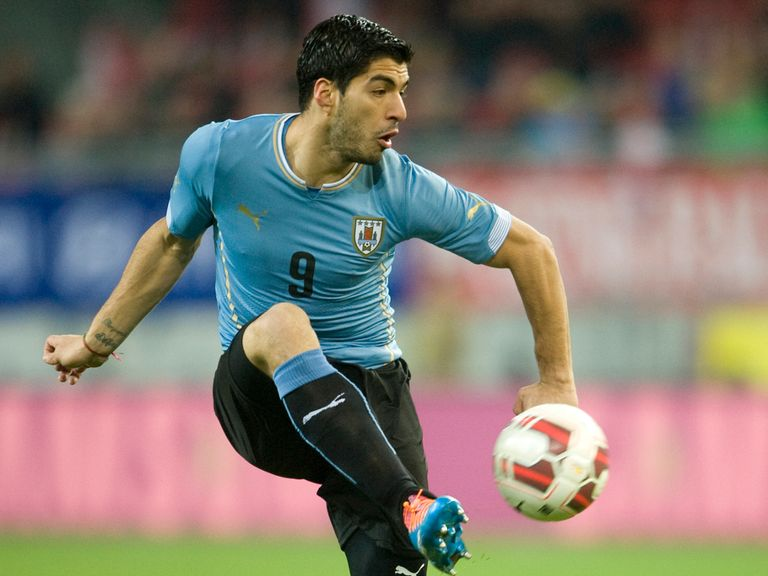 Luis Suarez: Part of Uruguay's World Cup squad