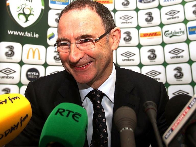 Martin O'Neill: Has named his Republic of Ireland squad
