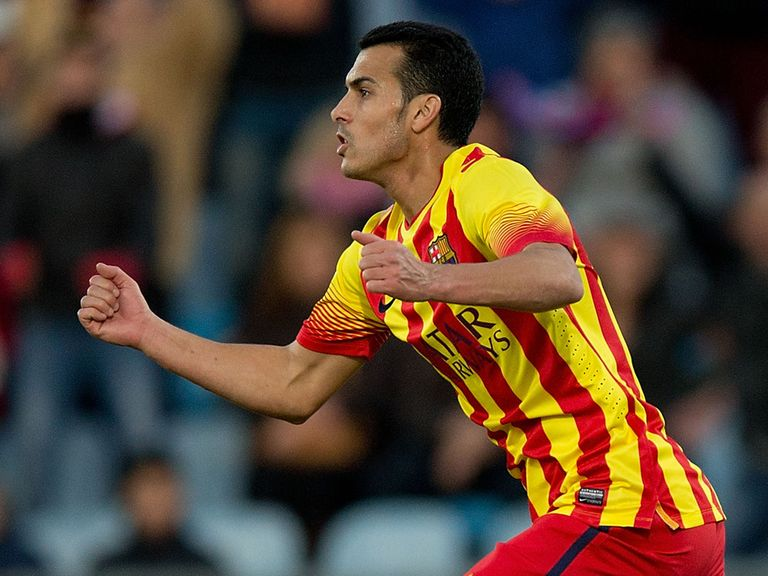 Pedro: Liverpool are reportedly interested in the Barca striker