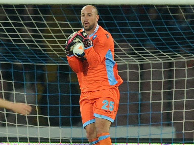 Pepe Reina: Too pricey for Napoli to complete a permanent move