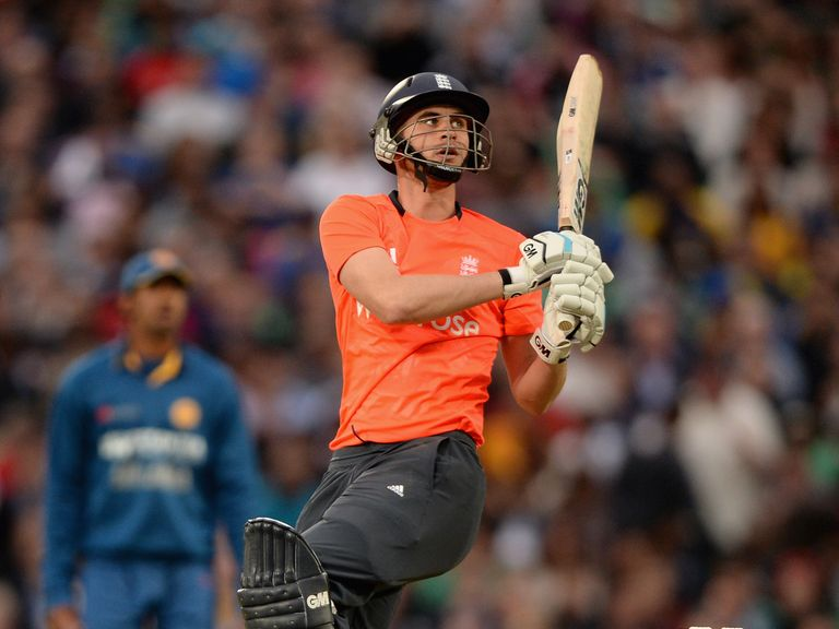 Alex Hales: Top-scored for England at The Oval