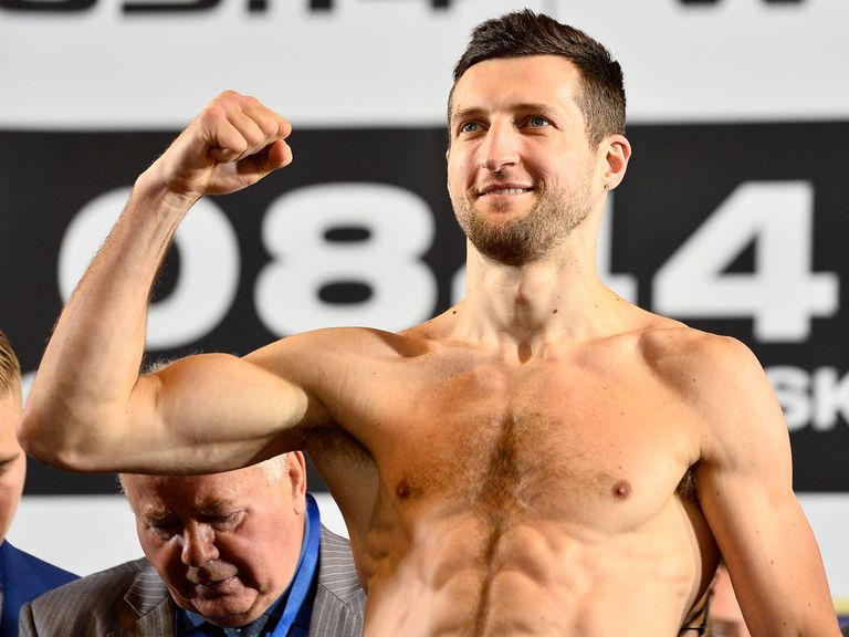 Carl Froch: Faces George Groves at Wembley
