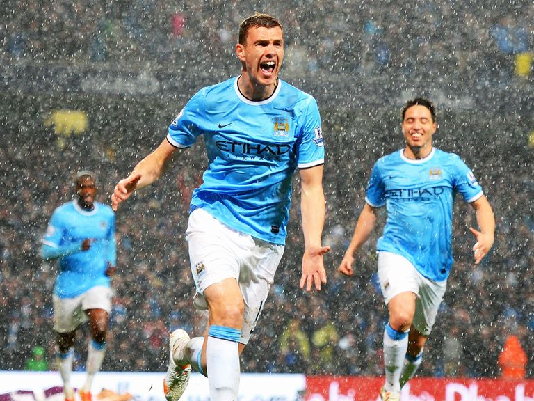 Edin Dzeko: Still part of Manchester City's plans
