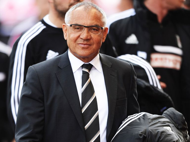 Felix Magath: Could not save Fulham after taking charge in February