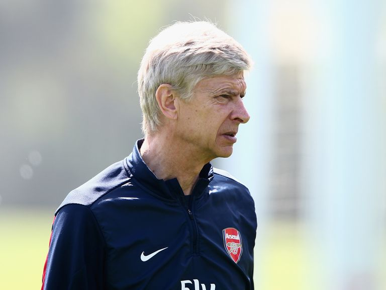 Arsene Wenger will be aiming to end Arsenal's long trophy drought