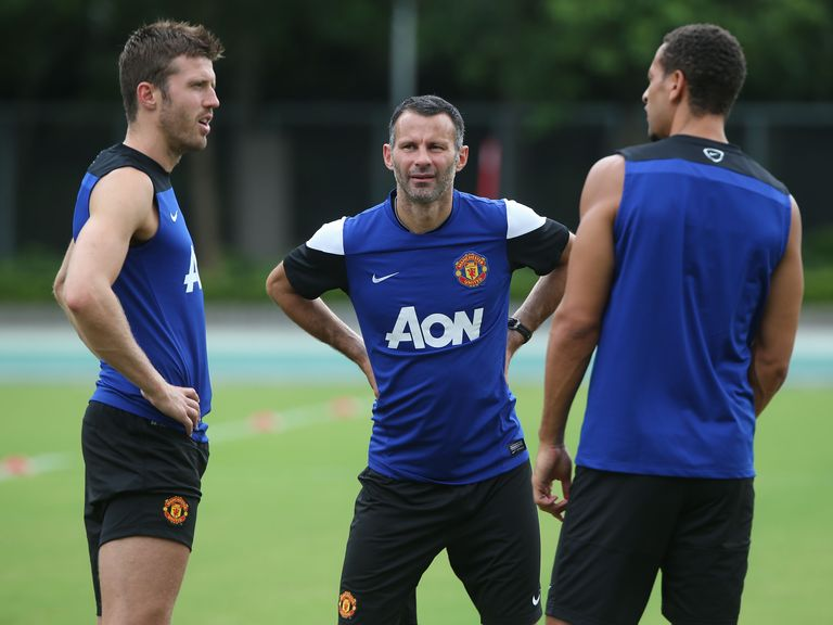 Michael Carrick: Has backed Ryan Giggs as manager