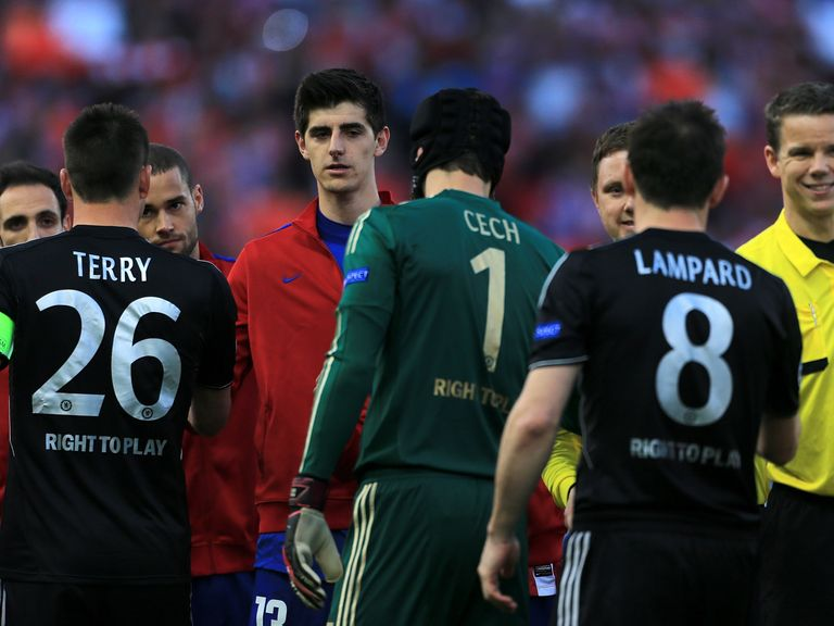 Petr Cech: Watched Chelsea's opening game on the bench as Courtois was favored by Mourinho.