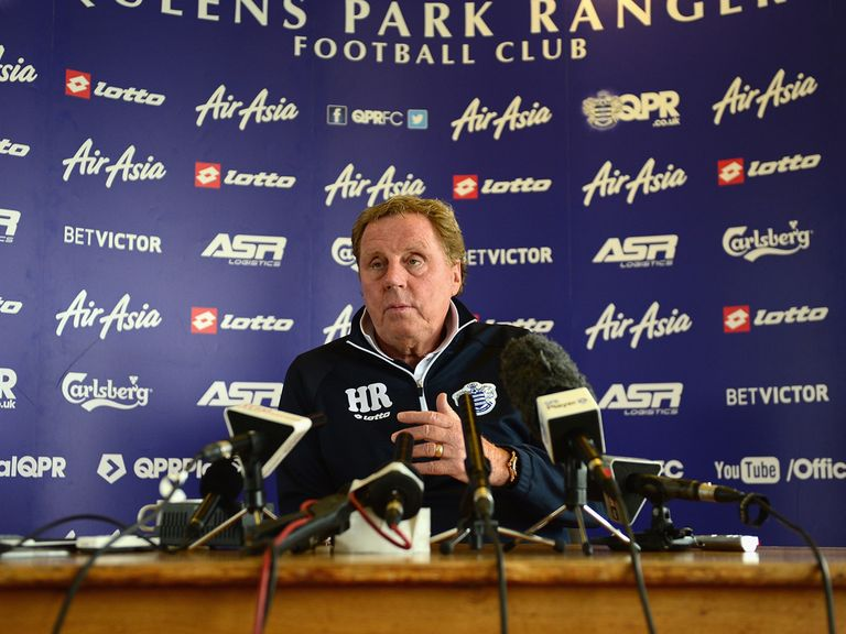 Harry Redknapp talks to the media ahead of the Sky Bet Championship play-off final