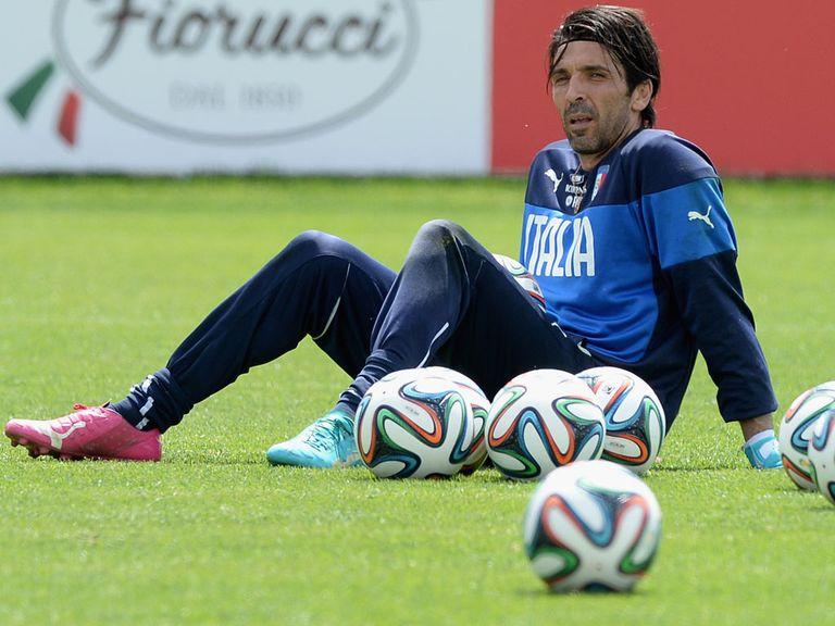 Gianluigi Buffon: Injury concern for Italy
