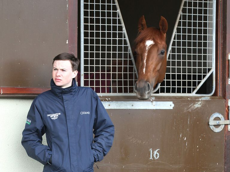 Joseph O'Brien: Admits he's unsure over length of career in saddle (Caroline Norris: Coolmore)