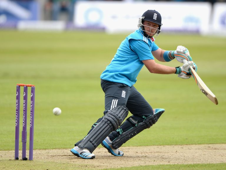 Ian Bell: Impressed with the bat