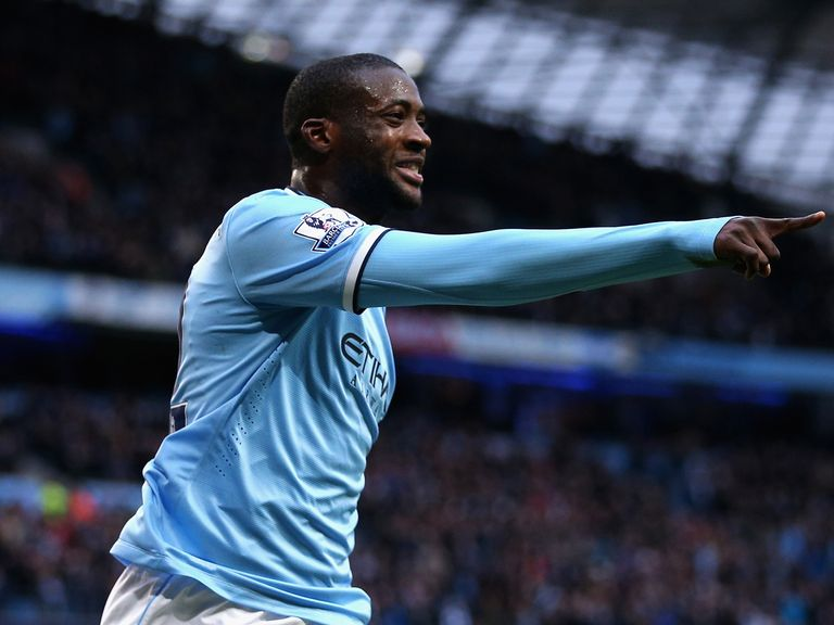 Yaya Toure: Wants to stay at City 'as long as possible'